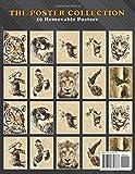 Poster Collection: Animals Vintage Retro Tiger Retro Animals