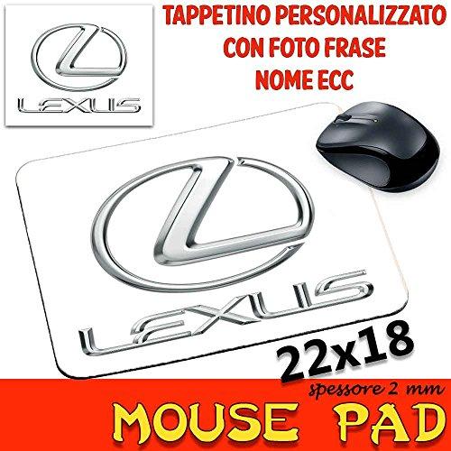 Mauspad Maus Pad personalisierbar SP 2mm Kollektion Auto Motorrad Motoren Lexus