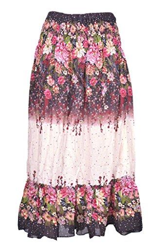 d57b284c1d6e P ANTI GURU Gonne-lunghe-donna-raggazza-estive-fiori etnica vita