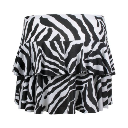 Zebra Print Ra-Ra Skirt (sizes 8-14) Perfectly 80s and cheap skirt