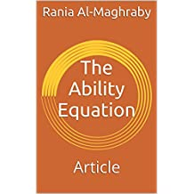 The Ability Equation: Article (English Edition)