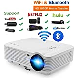 Wireless Video Projector Full HD 4500 Lumen 200