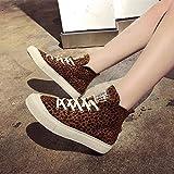 Women'S Leopard Print Round Toe Flat Non-Slip...Vergleich