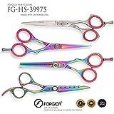 Barber Ciseaux Set-15,2cm Ciseaux de coiffure Ciseaux de coupe et de coiffure-Moustache Barbe, outils de coiffure par Forgica