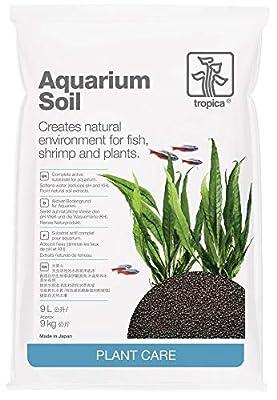Tropica Aquarium Soil 9L kompletter Bodengrund 2-3mm Pflanzendünger Pflanzen