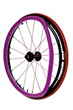 Ultra-Grrrip Wheelchair Push Rim Covers (purple)