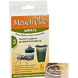 MOUCH'CLAC Appâts pour boîte et sac à mouches