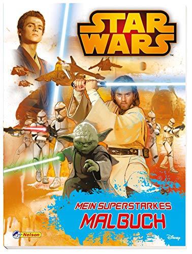 Star Wars: Star Wars - Mein superstarkes Malbuch (Wars Star Malbuch)