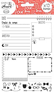 Aladine Stampo Planner Page Jour, 03916