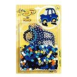 Hama - 8922 - Loisirs Créatifs - Blister 250 Perles à Repasser + 1 Plaque - Taille Maxi - Voiture