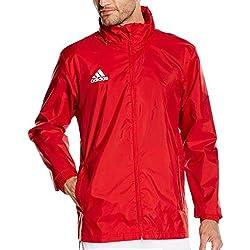 Adidas Coref Rai Chaqueta Deportiva Para Hombre Impermeable Color Rojo Talla XL
