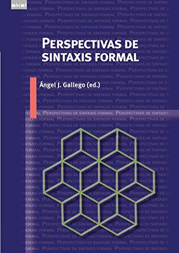 Perspectivas de sintaxis formal por From Ediciones Akal