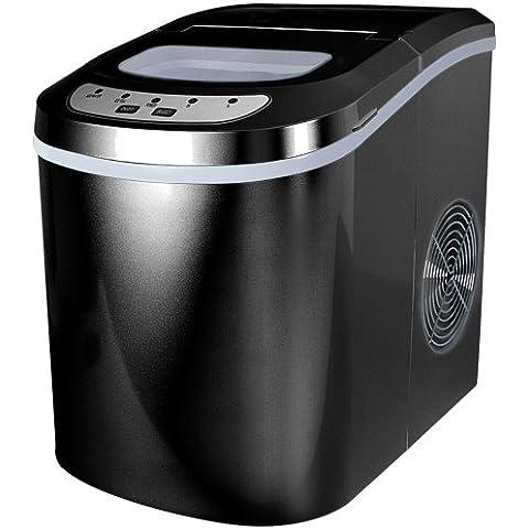 Jago – Máquina para hacer hielo – cubitos pequeño o grandes – color negro