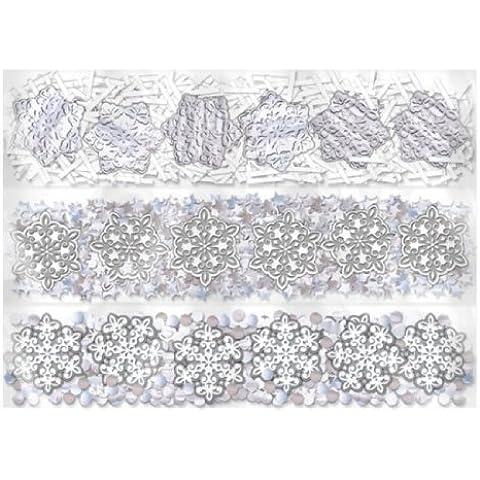 Confetti Snowflakes Triple