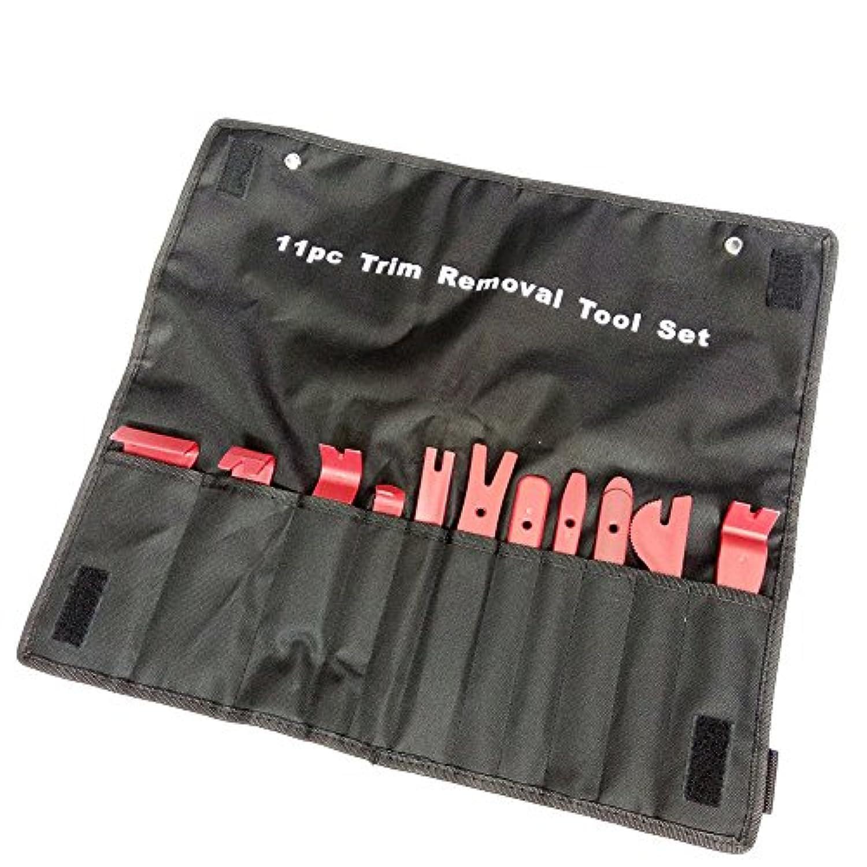 Outil démontage panneau de porte kit  4 pcs clips en plastique de garnitures