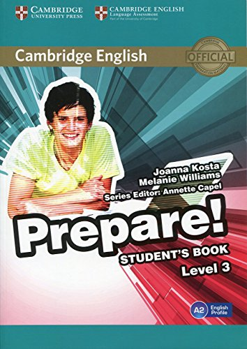 Cambridge English Prepare! Level 3 Student's Book by Joanna Kosta (29-Jan-2015) Paperback