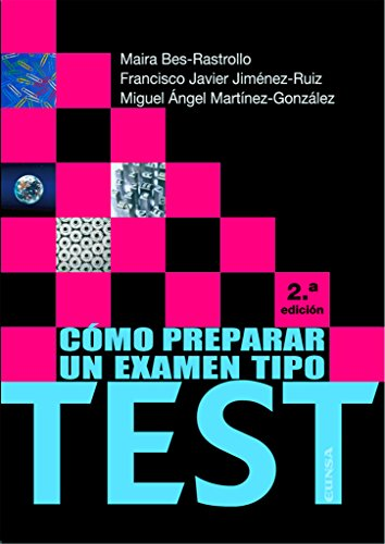 COMO PREPARAR UN EXAMEN TIPO TEST 3ª (Fuera de colección)