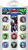 Marvel Avengers gommes, Rouge