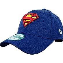 New Era Heather Essential Supman Hly - Gorra Línea Superman para Hombre, color azul, talla OSFA