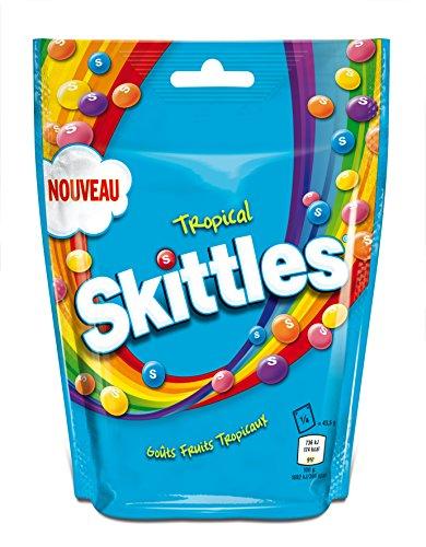 Skittles Tropical Beutel, 7er Pack (7 x 174 g)