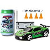 Digital Additions® Micro Remote Control RC Car Green - 40mhz
