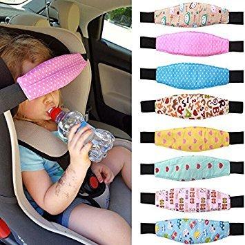 Schlafsack, Head Support, Baby Infant Kleinkind Hals Relief Auto Sicherheit Sitz Kinderwagen Buggy Sleep Positionierer, zufällige Muster (Baby Kinderwagen Schlafen)