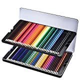 Colouring Pencils Set, Atmoko 72 Coloured Pencils for Adults Pack or Kids, Non-Toxic
