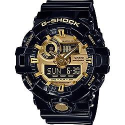 Casio Reloj Analógico/Digital de Cuarzo para Hombre con Correa de Resina – GA-710GB-1AER
