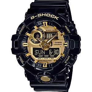 Casio Reloj Analógico-Digital para Hombre de Cuarzo con Correa en Resina GA-710GB-1AER
