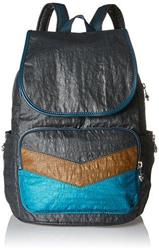 Kipling Damen Cayenne Rucksack, Mehrfarbig (Twisted Block), 27x37x19.5 cm