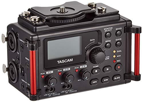 Tascam DR-60DMKII - Registratore portatile lineare PCM Stereo per DSLR