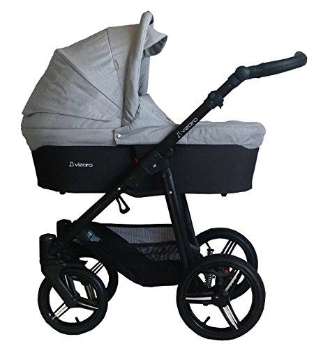 Opiniones vizaro onyx 3 en 1 carrito con capazo silla - Silla paseo amazon ...
