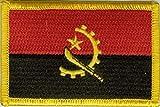 U24toppa/applique/patch con bandiera dell'Angola