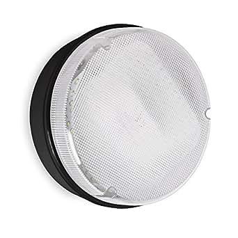 Plafonnier Applique Hublot IP65 Blanc 9 watt LED (120 x SMD) 6500K