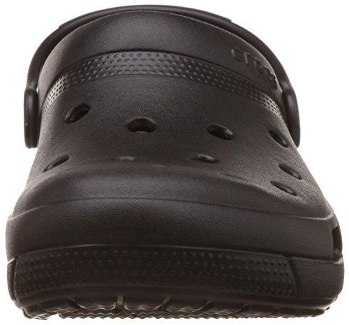 crocs Unisex-Erwachsene Coast Clogs Black (Schwarz)