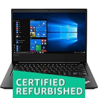 (Certified REFURBISHED) Lenovo Think Pad L480 14-inch Laptop (7th Core i3-8130U/4GB/1TB/Windows 10/Intel UHD Graphics 620), Black
