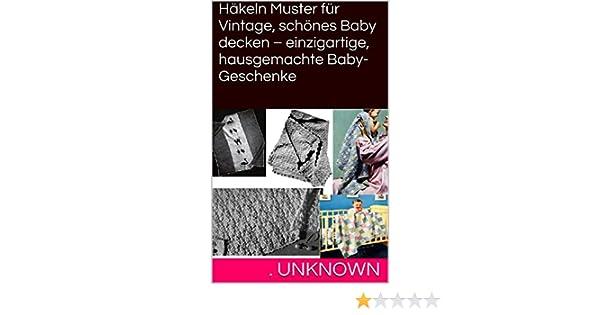 Häkeln Muster für Vintage, schönes Baby decken – einzigartige ...