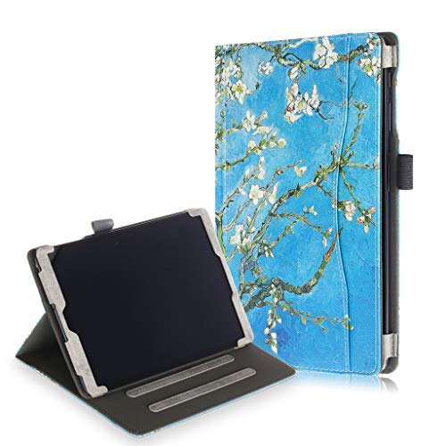 Bearbelly Tablet-Hülle Kompatibel mit Samsung Galaxy Tab A SM-T515 / T510 10,1 Zoll 2019 Tablet, ultraleichte 2-in-1-Flip-Schutzhülle aus Buntem Leder, Schutz vor Kratzern, Schmutz (Galaxy Cricket Samsung Für 2)
