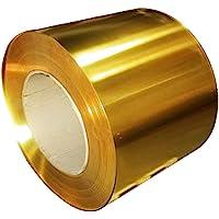DSFHKUYB Brass Strip Copper Sheet Foil Metal Thin Plate Latten,Thickness 5mm
