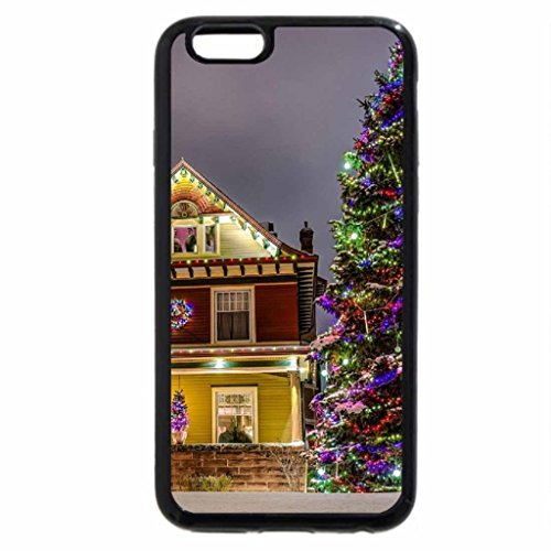 iPhone 6S / iPhone 6 Case (Black) Christmas