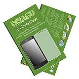 Disagu Archos 50b Platinum Displayschutzfolie - 6x Ultra Clear Schutzfolie für Archos 50b Platinum