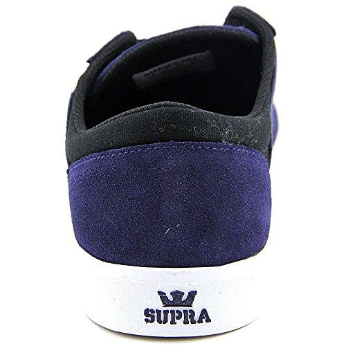 Supra Stacks Vulc II Hommes Toile Baskets Navy-Black-White