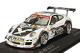 Minichamps 1:43 Scale 2011 Goossens/Heylen/Soulet Porsche 911 GT3 R