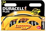 Duracell Plus MN1500 Alkaline AA Batteries - 12-Pack