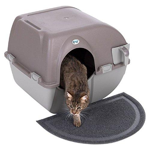 Arenero para gatos de autolimpieza