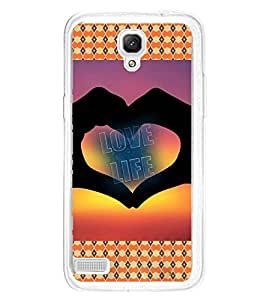 ifasho Designer Phone Back Case Cover Xiaomi Redmi Note :: Xiaomi Redmi Note 4G :: Xiaomi Redmi Note Prime ( Black White Orange Colorful Pattern Design )