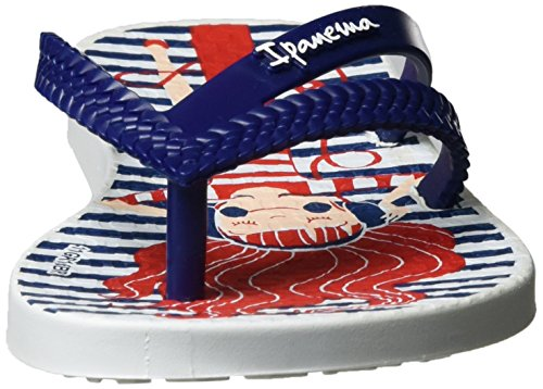 Ipanema Bossa Print Kids, Tongs Fille Mehrfarbig (white/blue)