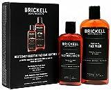 Brickell Men's Products Routine Quotidienne Essentielle de Soin Visage I – Gel Nettoyant Visage & Crème Hydratante Visage – Naturel et Bio