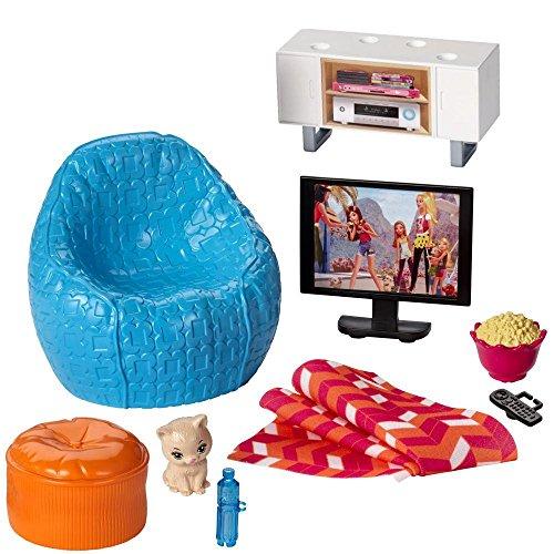 Barbie - Mobili Soggiorno - Angolo TV, Poltrone e Accessori
