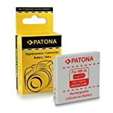 Batteria NB-4L per Canon Digital Ixus 30 | 40 | 50 | 55 | 60 | 65 | 70 | 75 | 80 IS | 82 IS | 100 IS | 110 IS | 115 HS | 120 IS | 130 IS | 220 HS | 230 HS | 255 HS | i zoom | i7 | Wireless - PowerShot SD40 | SD600 | SD750 | SD1000 | SD1100 IS | TX1